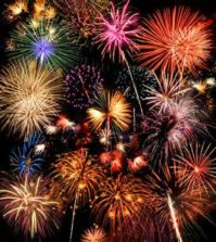 4th of July firework shows