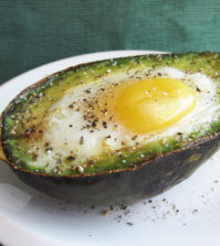 Breakfast avocado