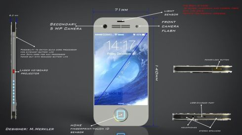 iPhone-8-concept-front view extended